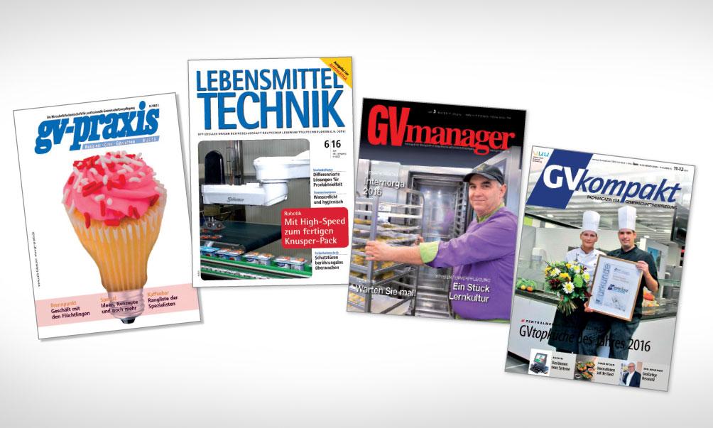 Artikel über GESOCA in Fachmagazinen