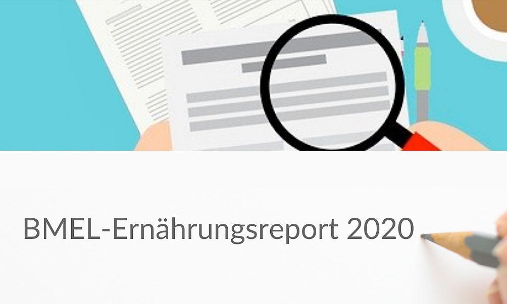 BMEL-Ernährungsreport 2020